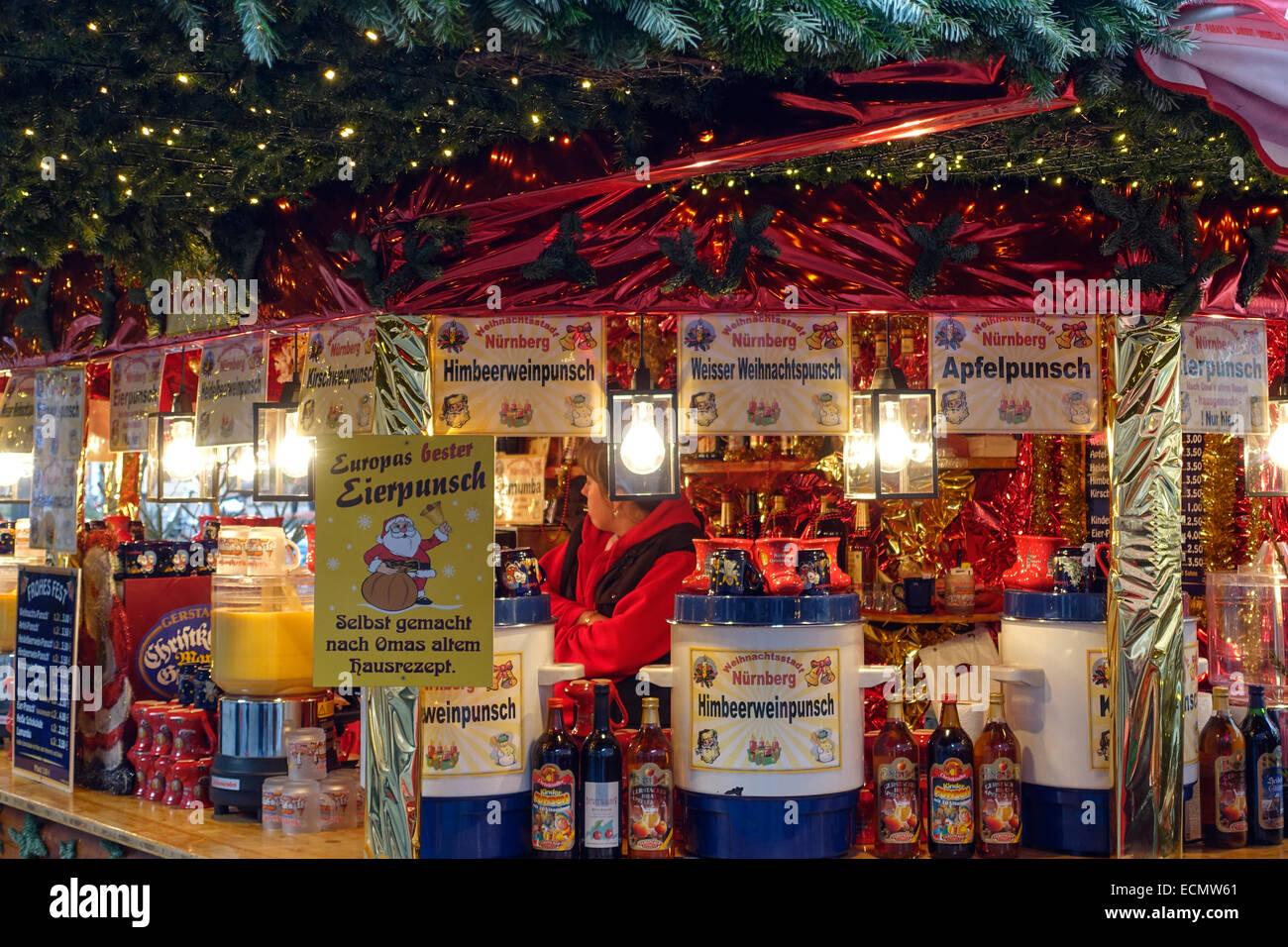 Nuremberg Christmas Market Gluhwein Stock Photos & Nuremberg ...