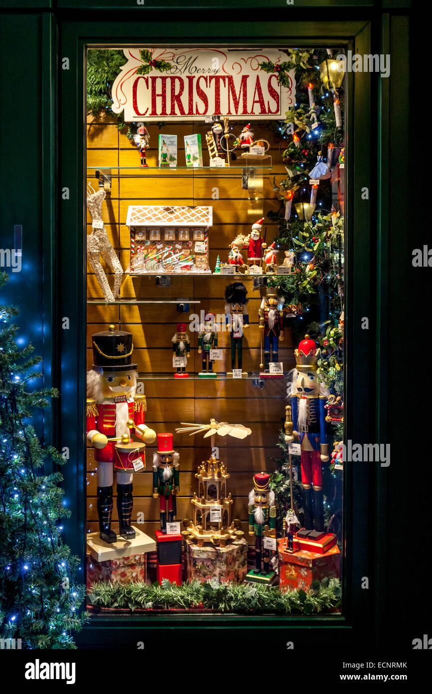 the christmas shop hays galleria london england stock image - The Christmas Shop