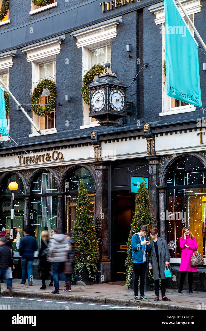 7800ff9810e The Tiffany   Co Store In Old Bond Street