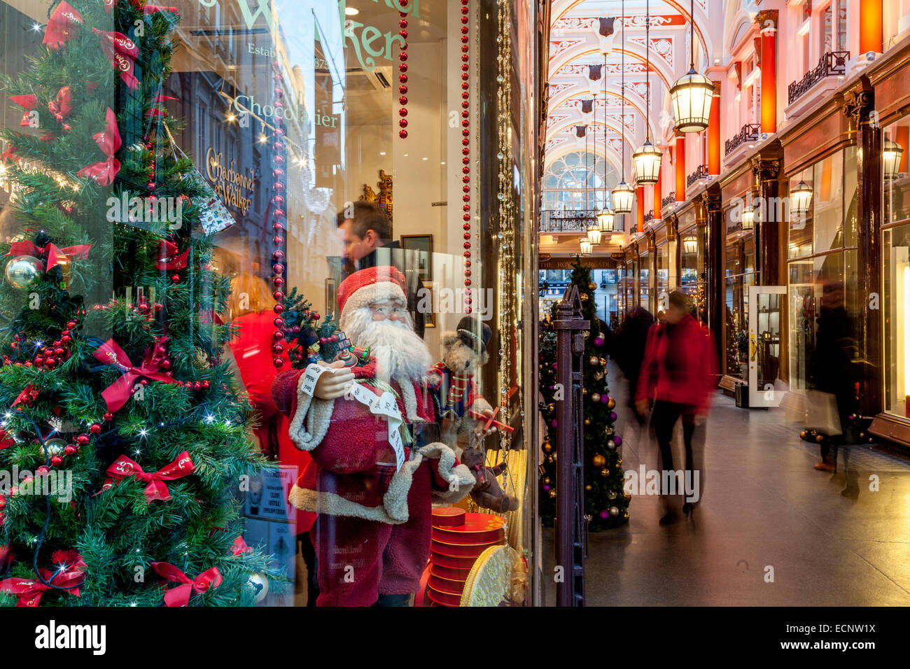The Interior Of The Royal Arcade off Old Bond Street, London, England - Stock Image