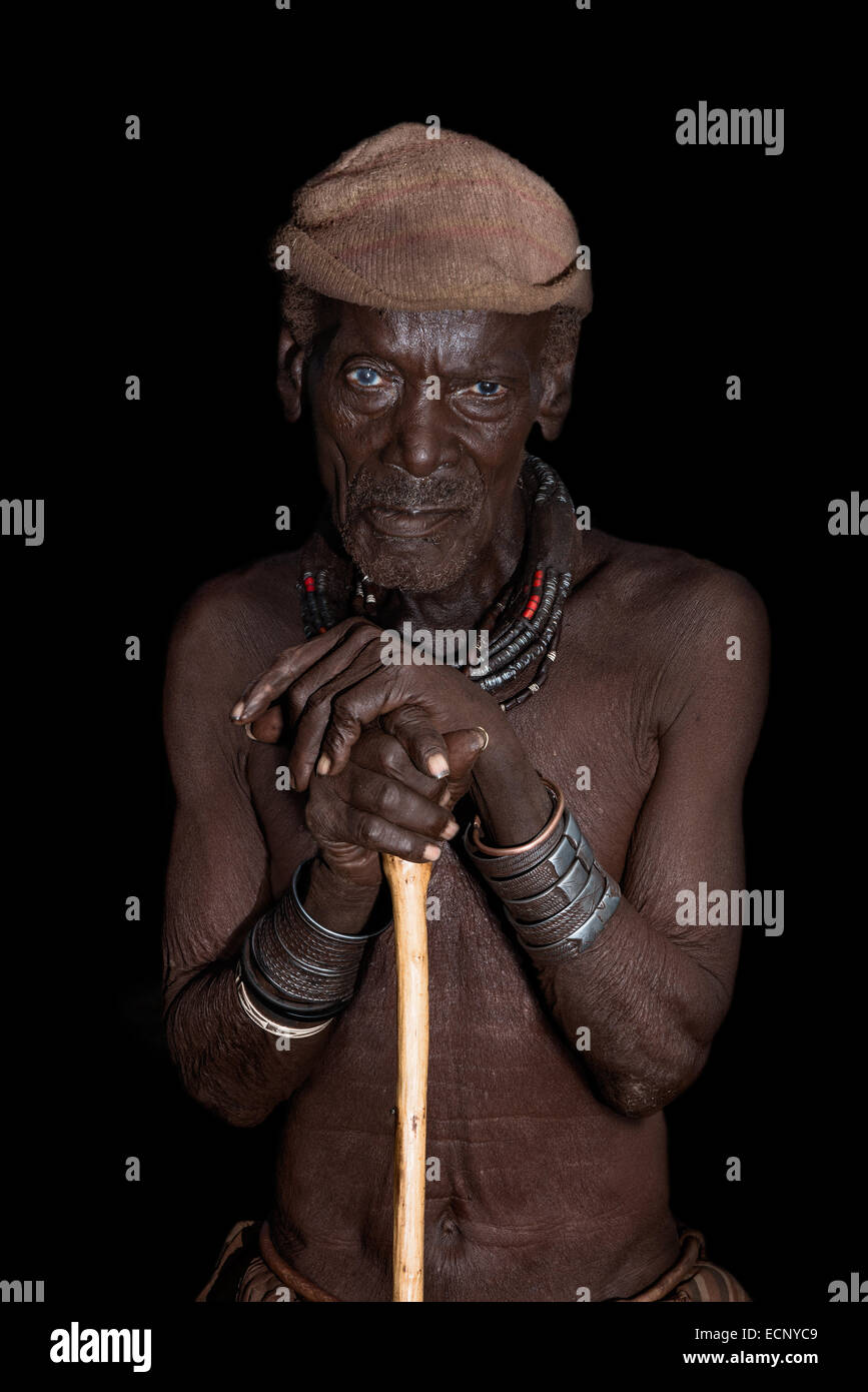 Himba chief - Stock Image
