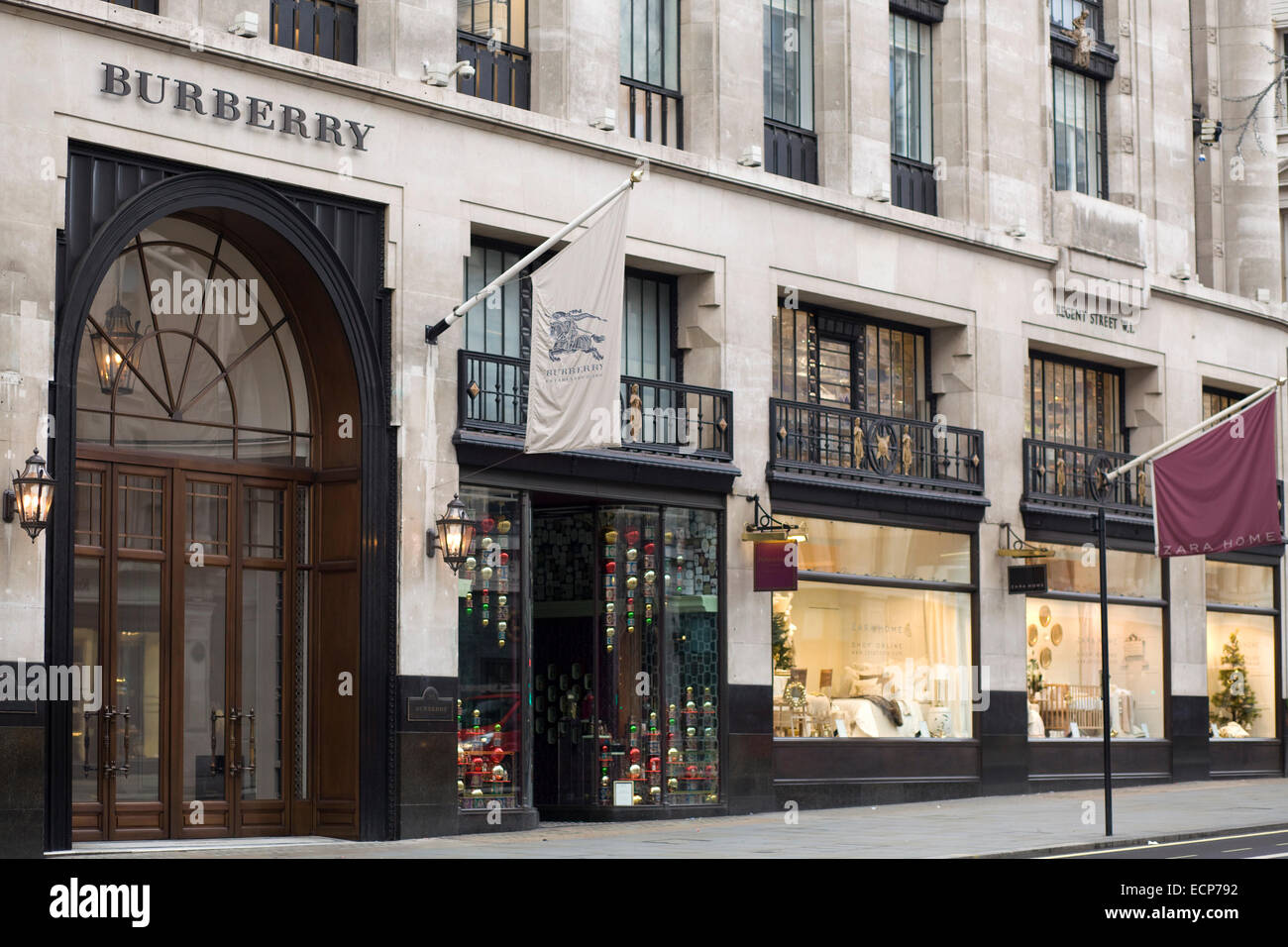 770acc1ccf42 Burberry Flagship Store Stock Photos   Burberry Flagship Store Stock ...