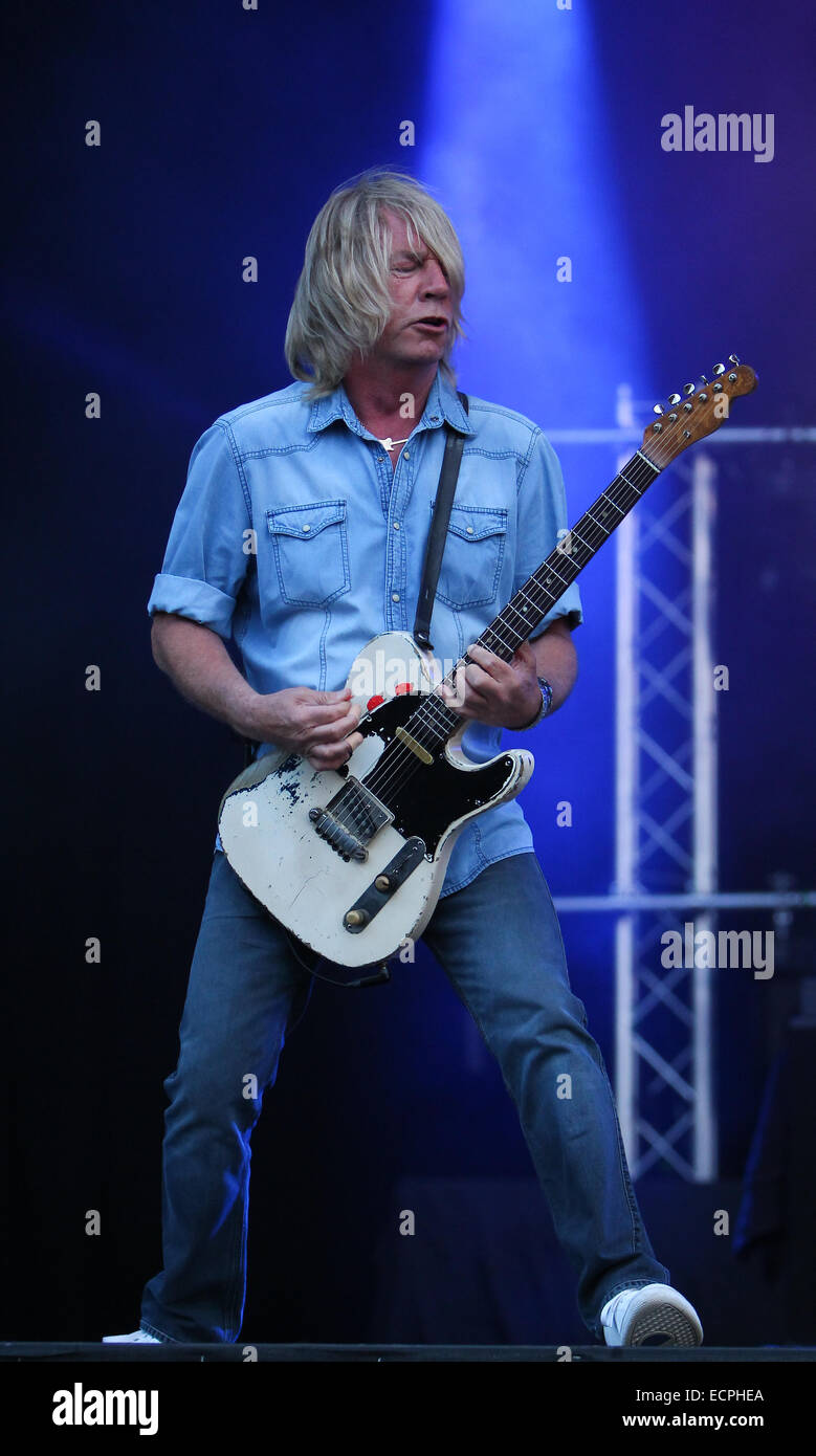 Status quo headline the zippo encore stage on day 2 of download.