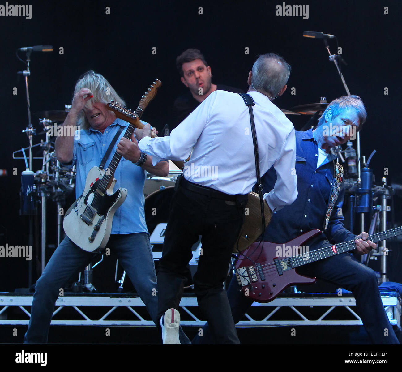Status Quo headline The Zippo Encore stage on day 2 of