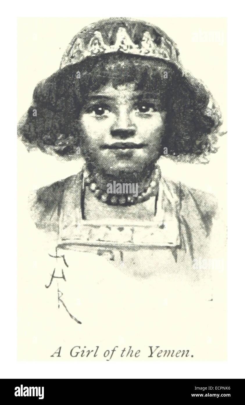 244 A girl of the Yemen - Stock Image