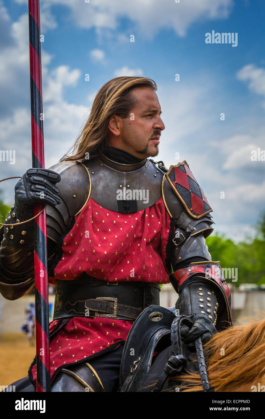 Scarborough Renaissance Festival, more commonly known as Scarborough Faire, is a renaissance fair in Waxahachie, - Stock Image