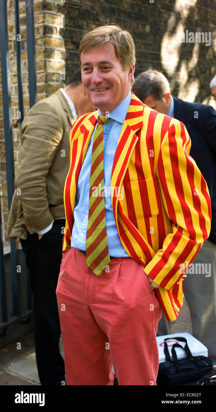 The Unmistakeable Colours Of The Mcc The Marylebone Cricket