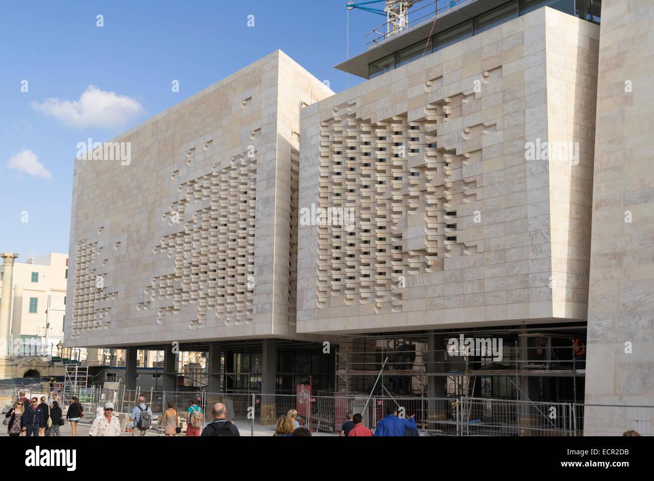 New parliament building planned by renzo piano in valletta for Renzo piano malta