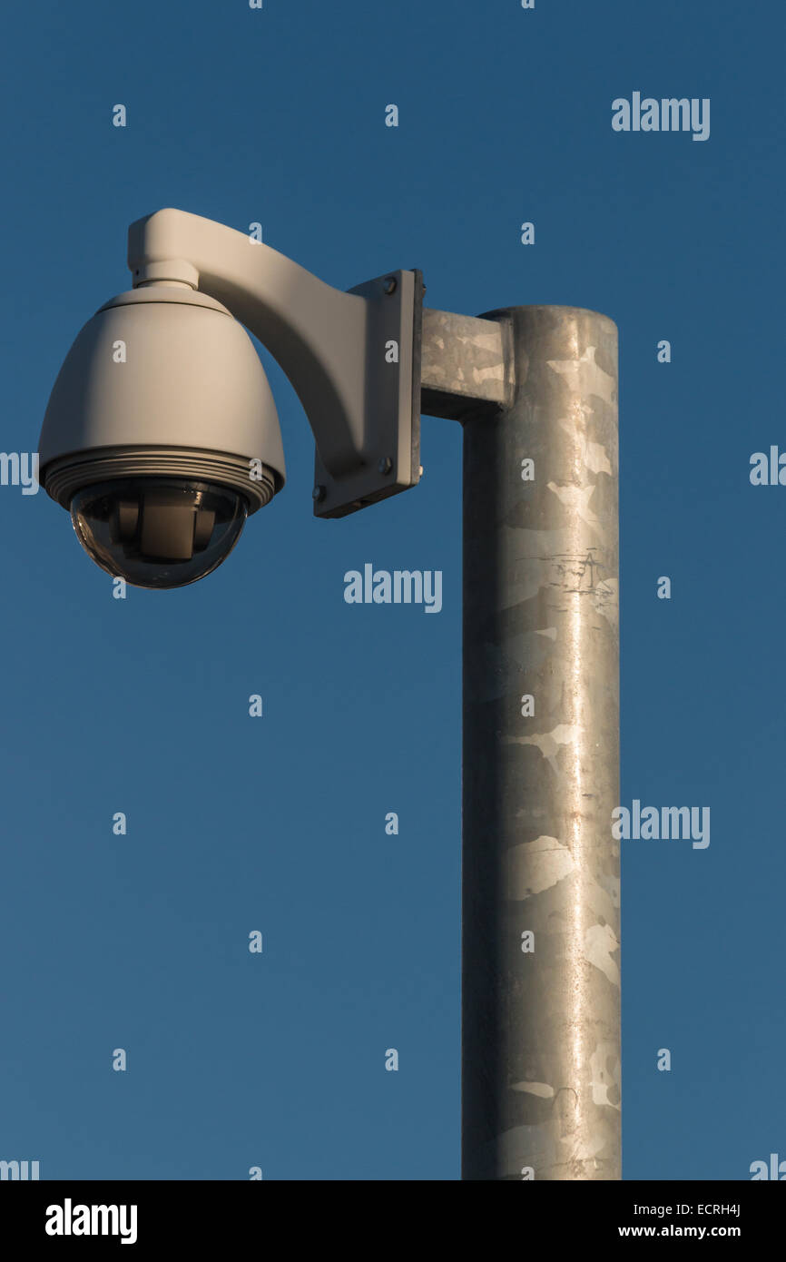 dome CCTV camera - Stock Image