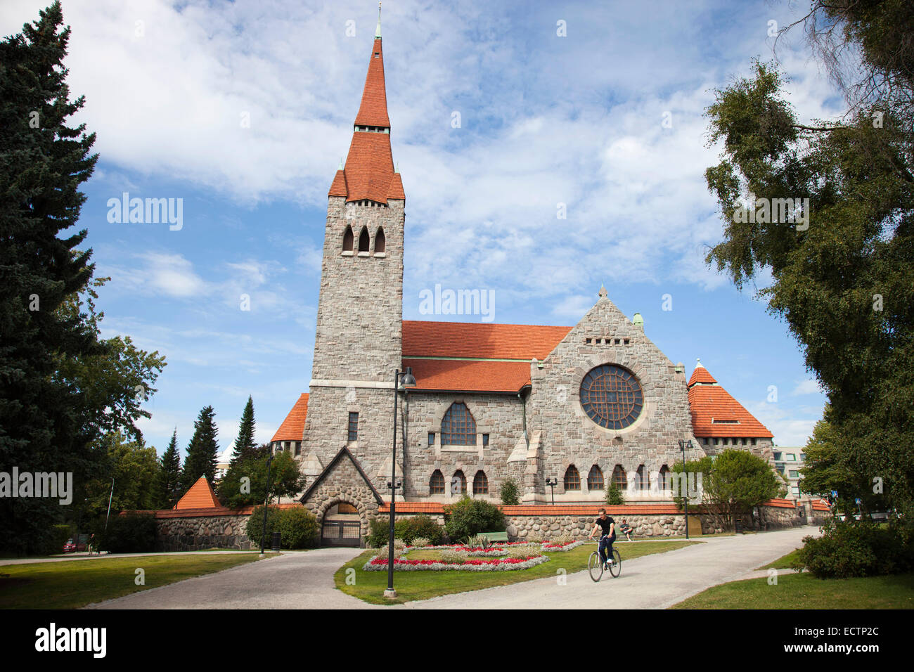 cathedral, tampere, finland, europe - Stock Image