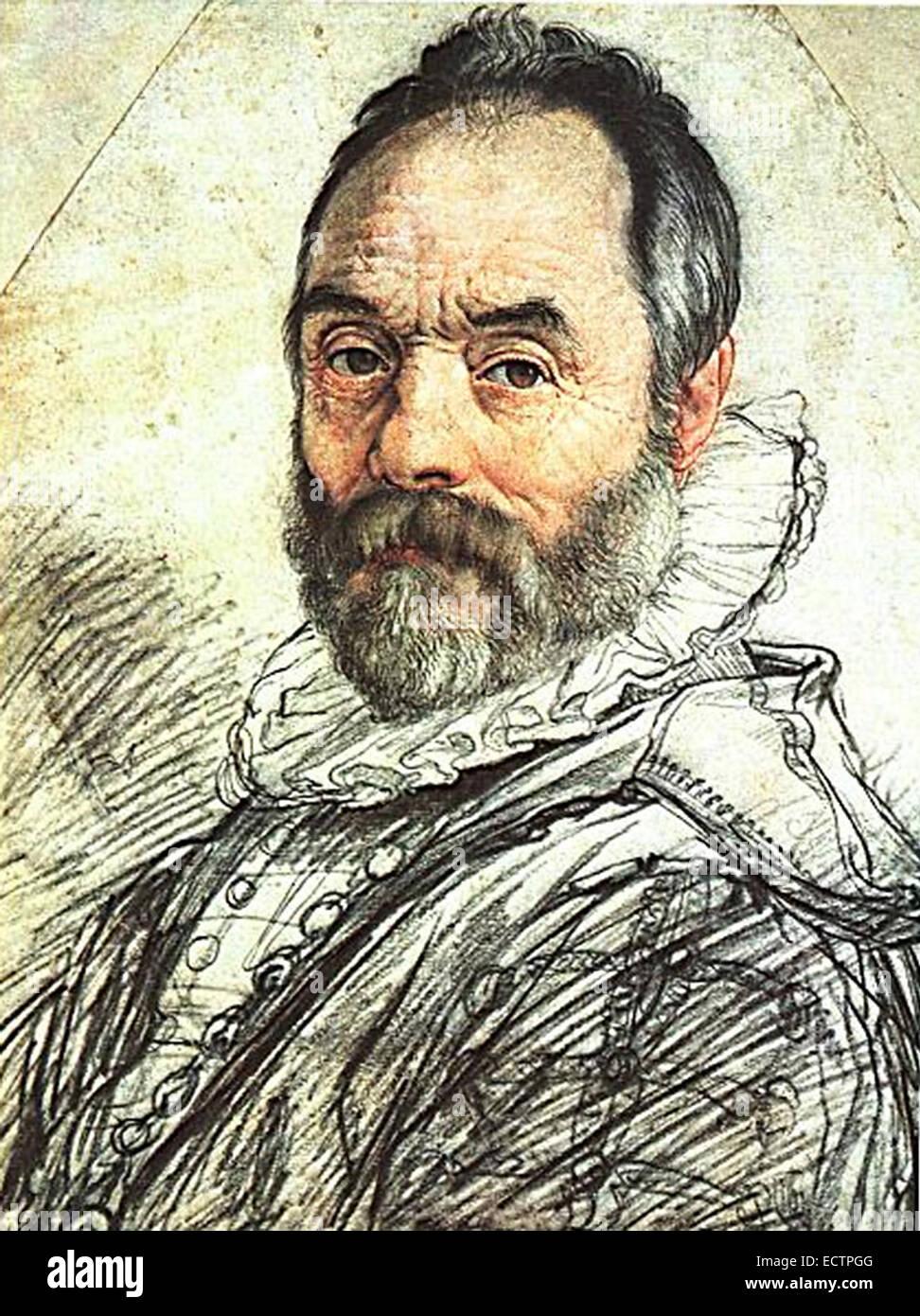 Giovanni Bologna, Flemish sculptor and architect - Stock Image