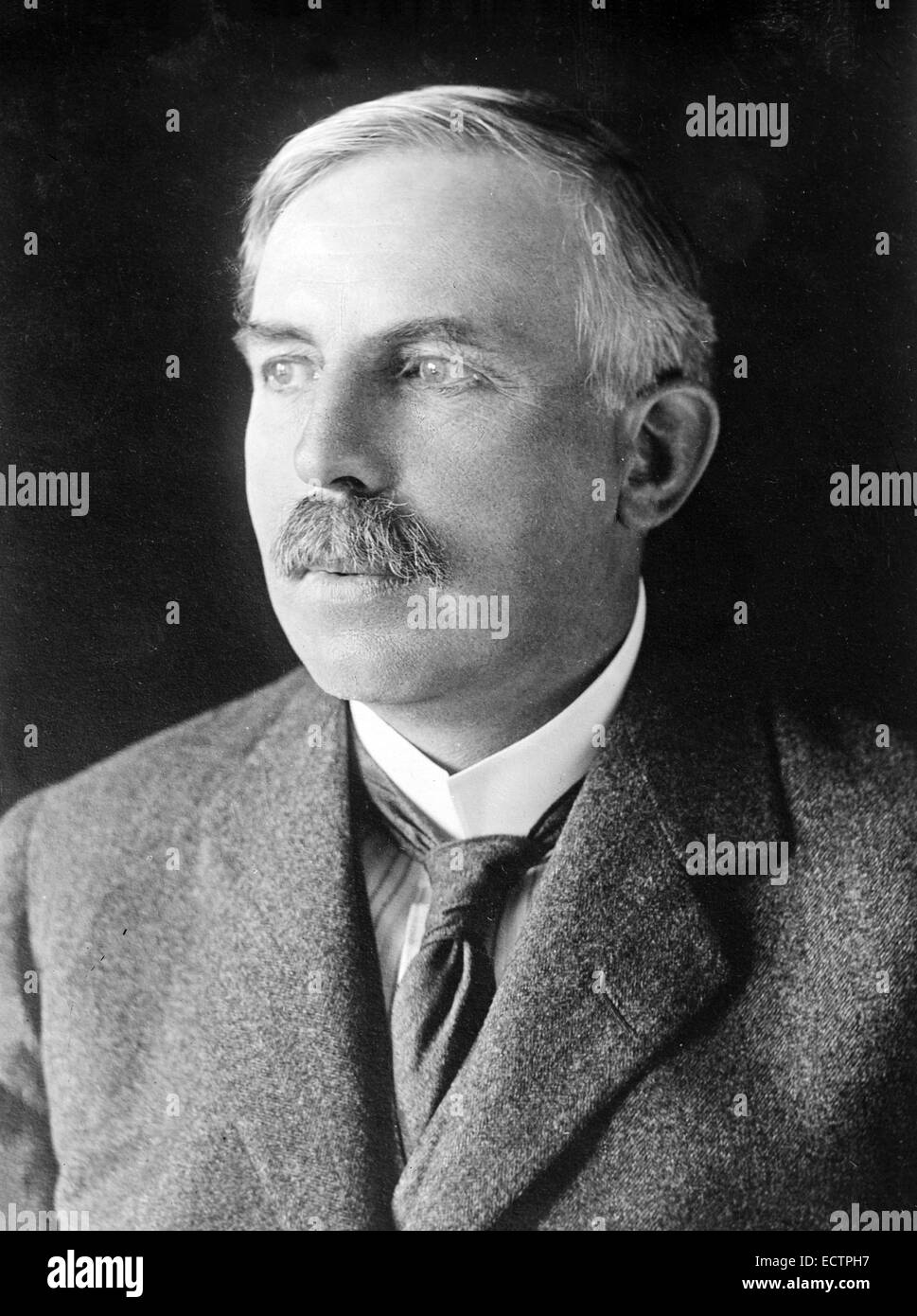 New Zealand chemist and Nobel Prize laureate Ernest Rutherford (1871-1937) Stock Photo