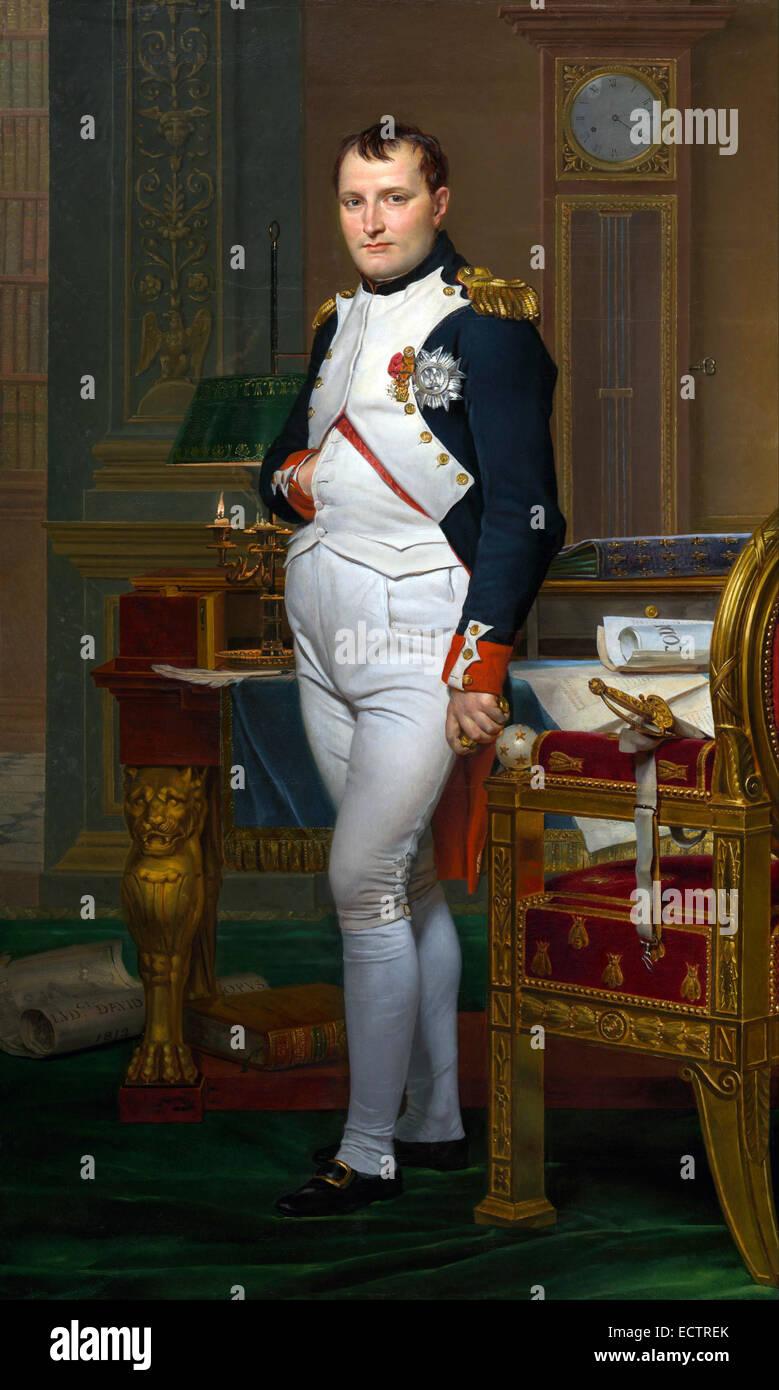 Napoleon Bonaparte - Stock Image