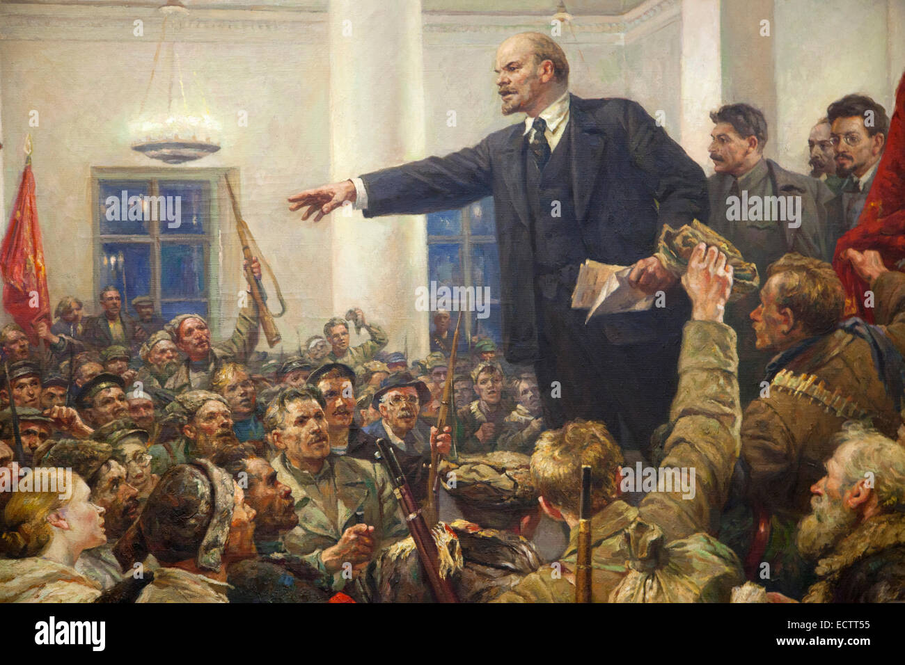 Stalin S Children Painting