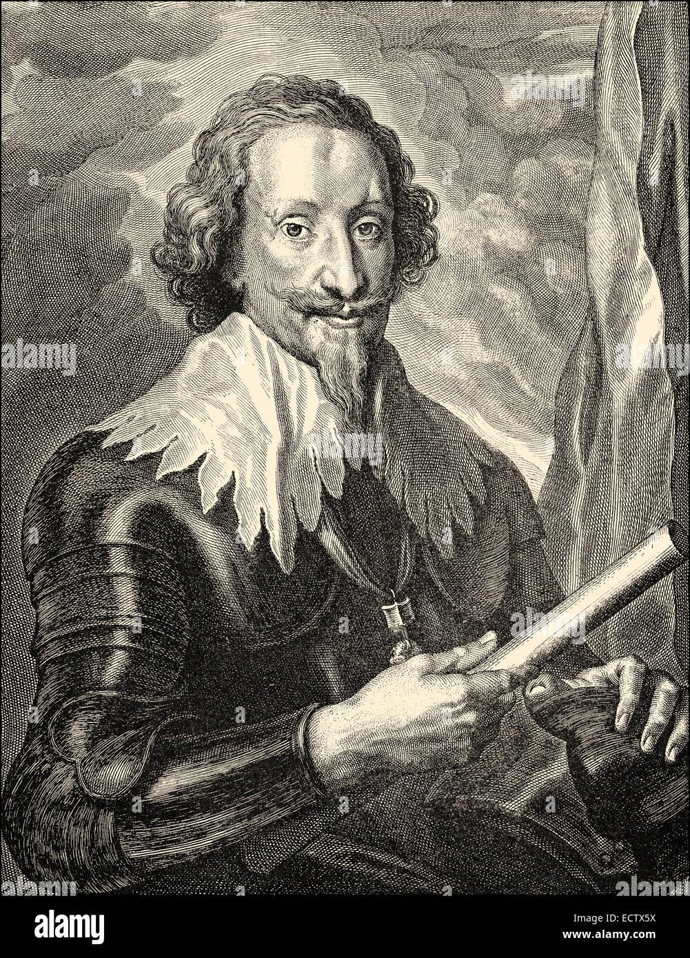 Gottfried Heinrich Graf zu Pappenheim, 1594 - 1632, a general in the Thirty  Years' War for the Catholic League , Gottfried Heinr