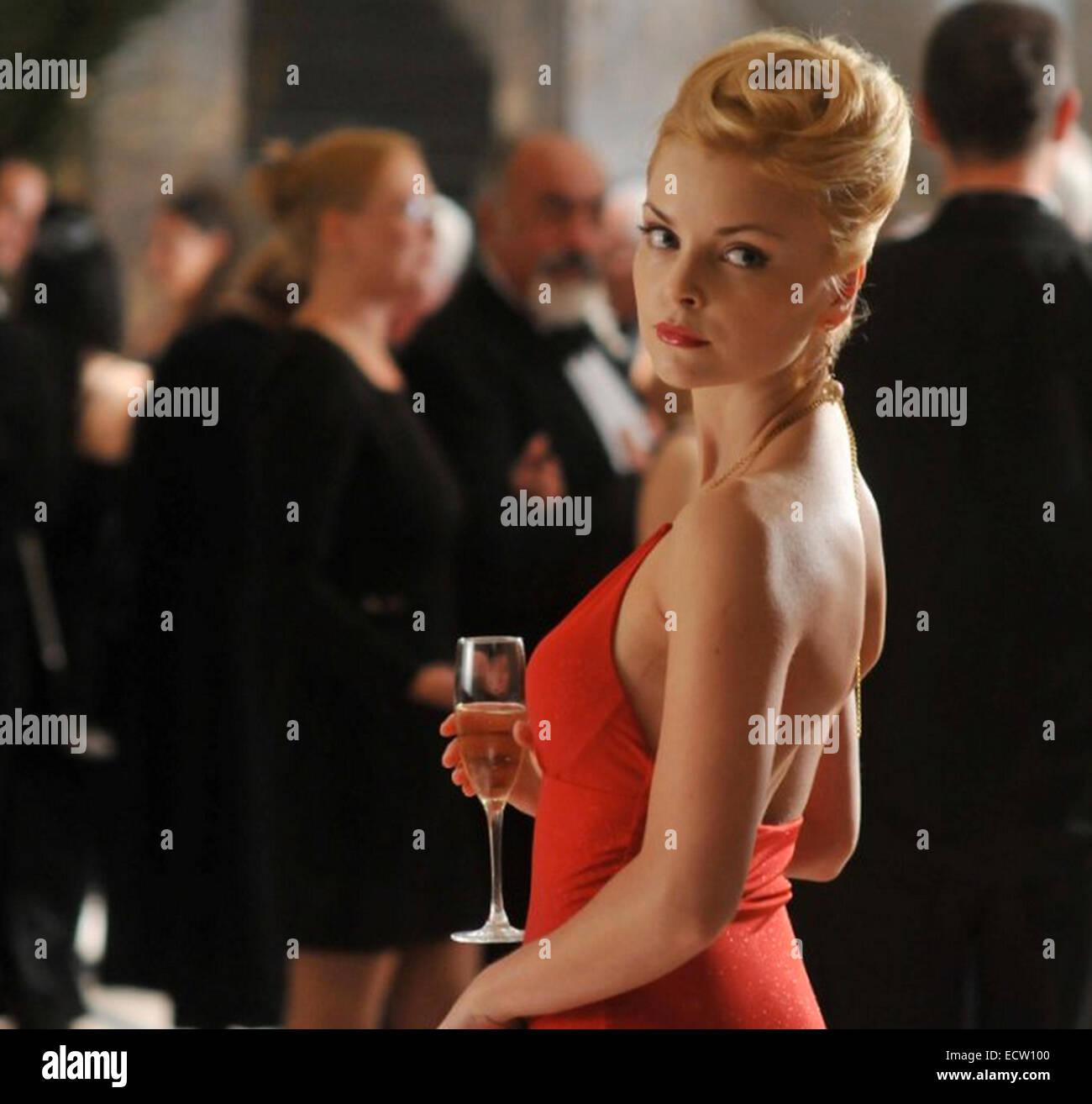 DOUBLE IDENTITY  2009 Millenium Films production with Izabella Miko - Stock Image