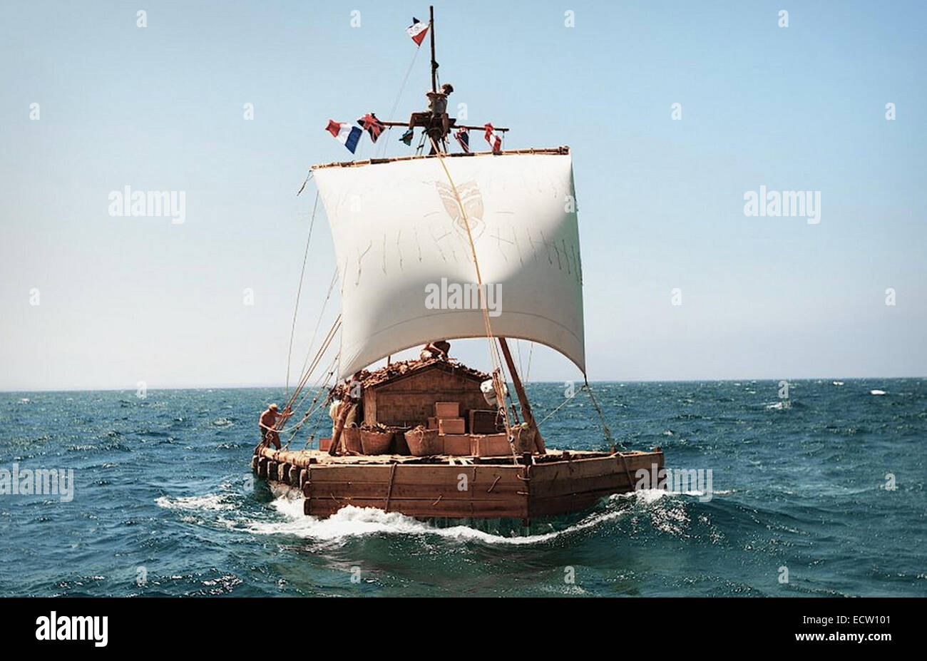 KON-TIKI 2013 Recorded picture Company film - Stock Image