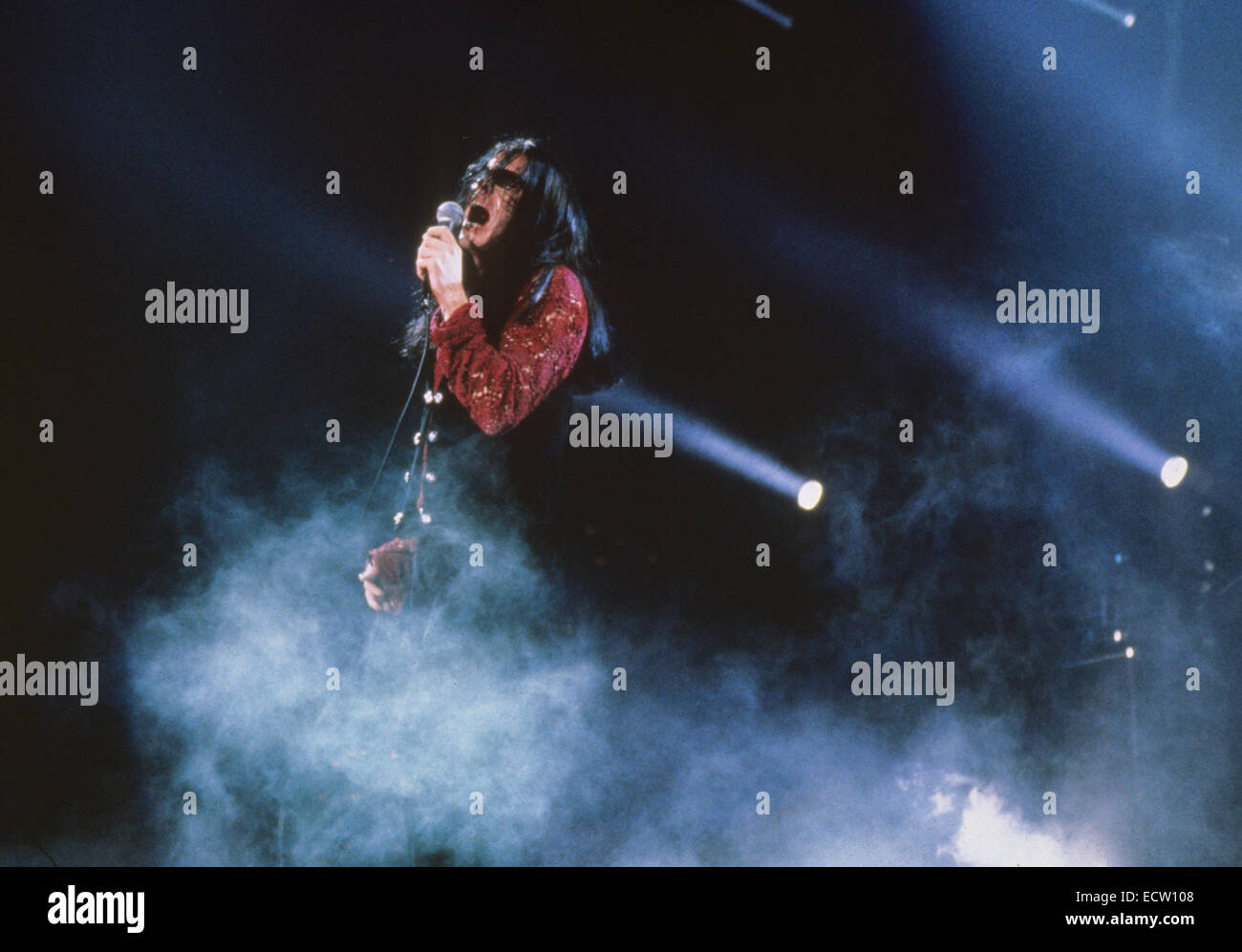 THE CULT UK rock group with Ian Astbury in 1991 - Stock Image