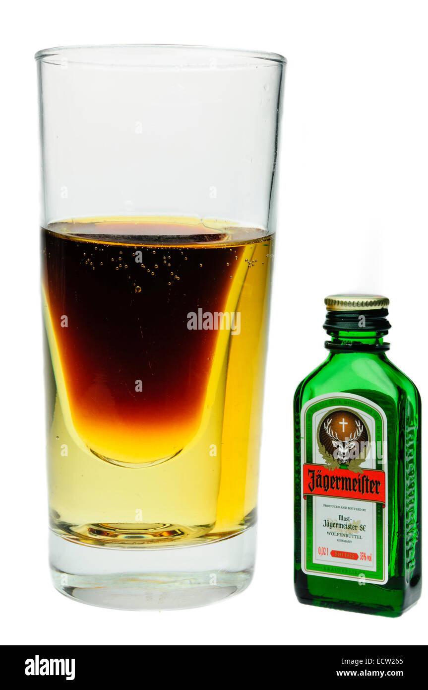 Jagerbomb High Resolution Stock Photography And Images Alamy