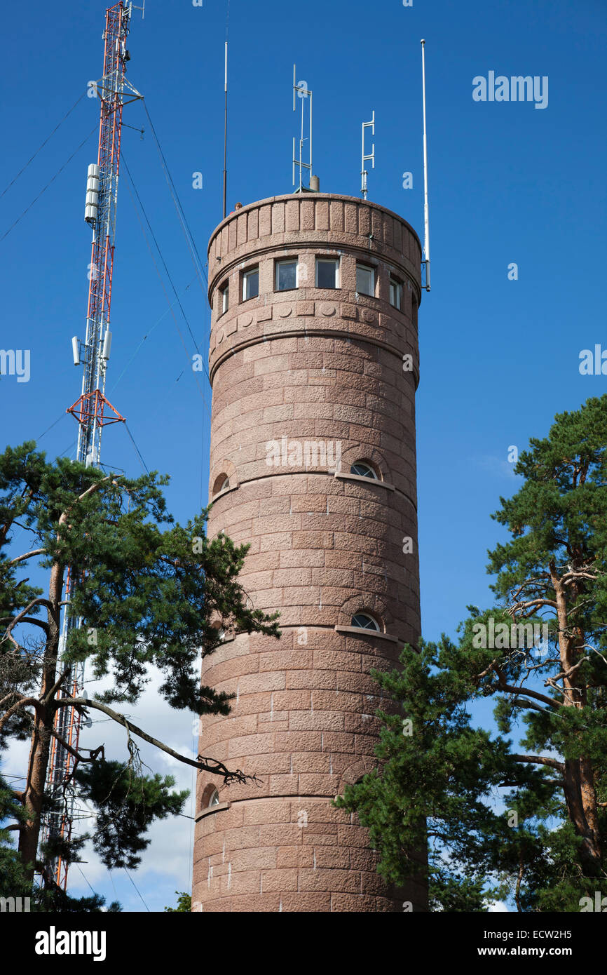 the observation tower, tampere, finland, europe - Stock Image