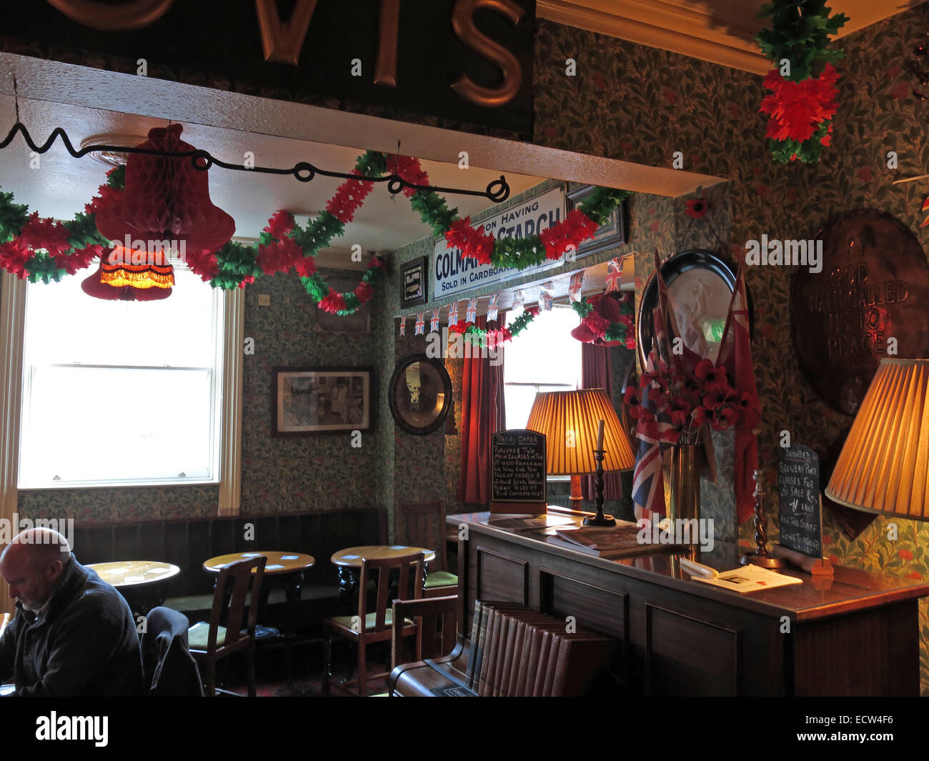The Albion Inn, old fashioned, classic English Pub in Chester, England,UK - Stock Image