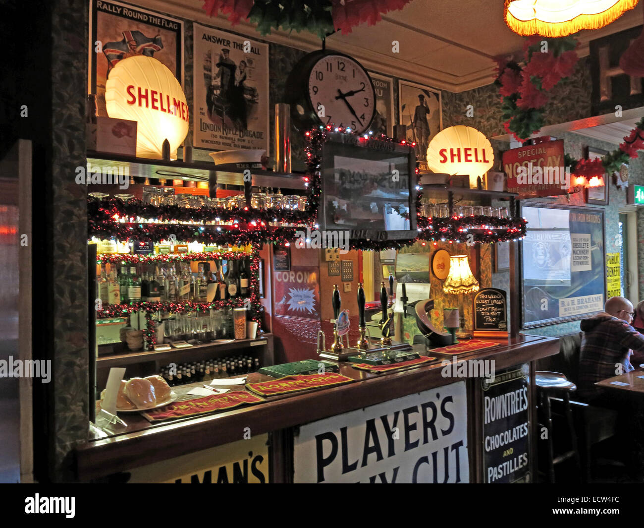 The Albion Inn, classic English Pub in Chester, England,UK - Stock Image