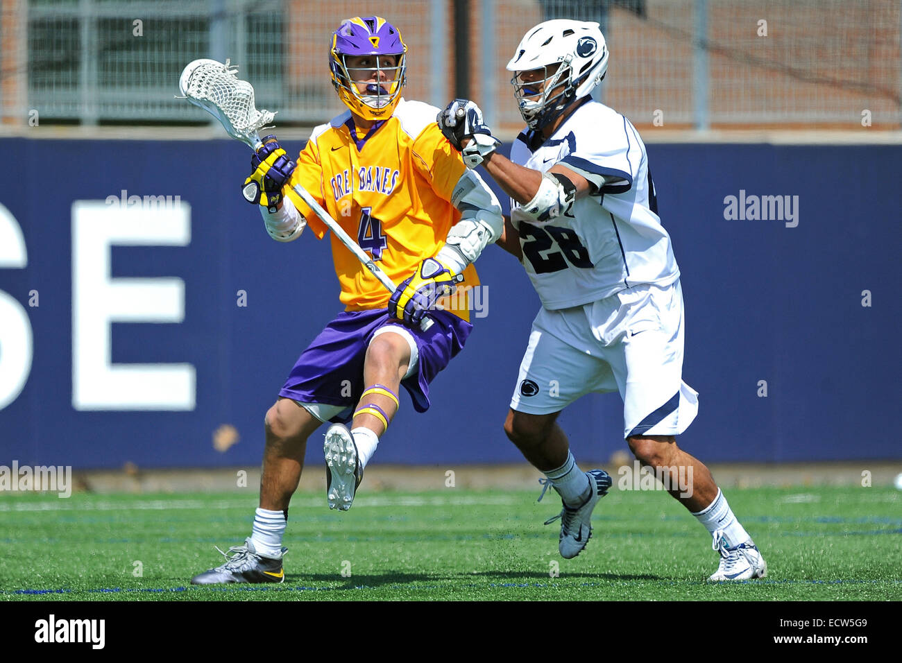 March 22, 2014: Albany Great Danes man Lyle Thompson (4 ...