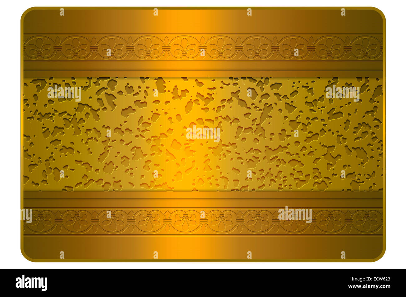 gold abstract background for the design of business or credit card