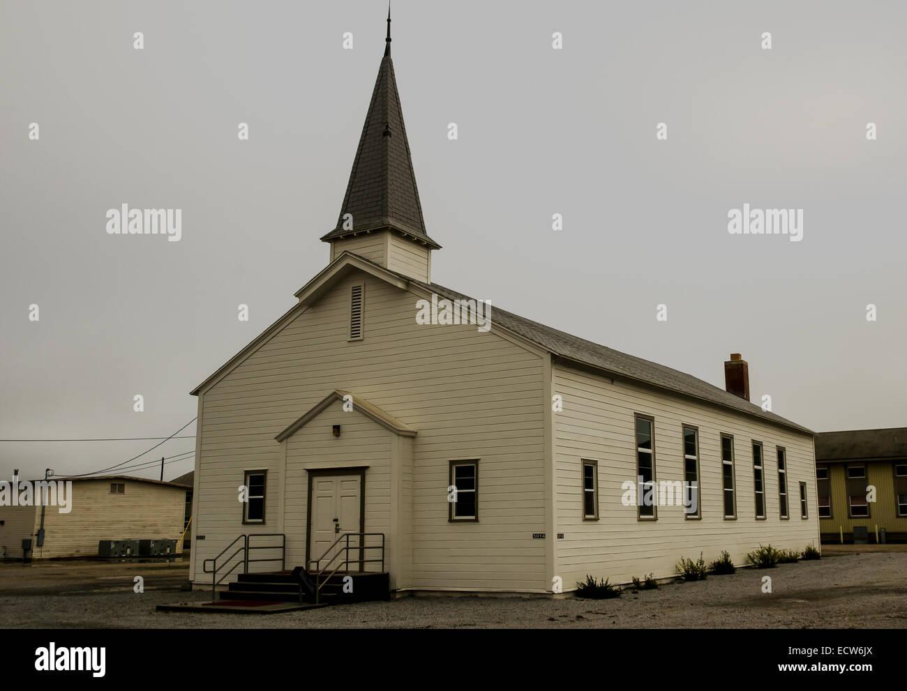 Church, Camp Roberts California - Stock Image