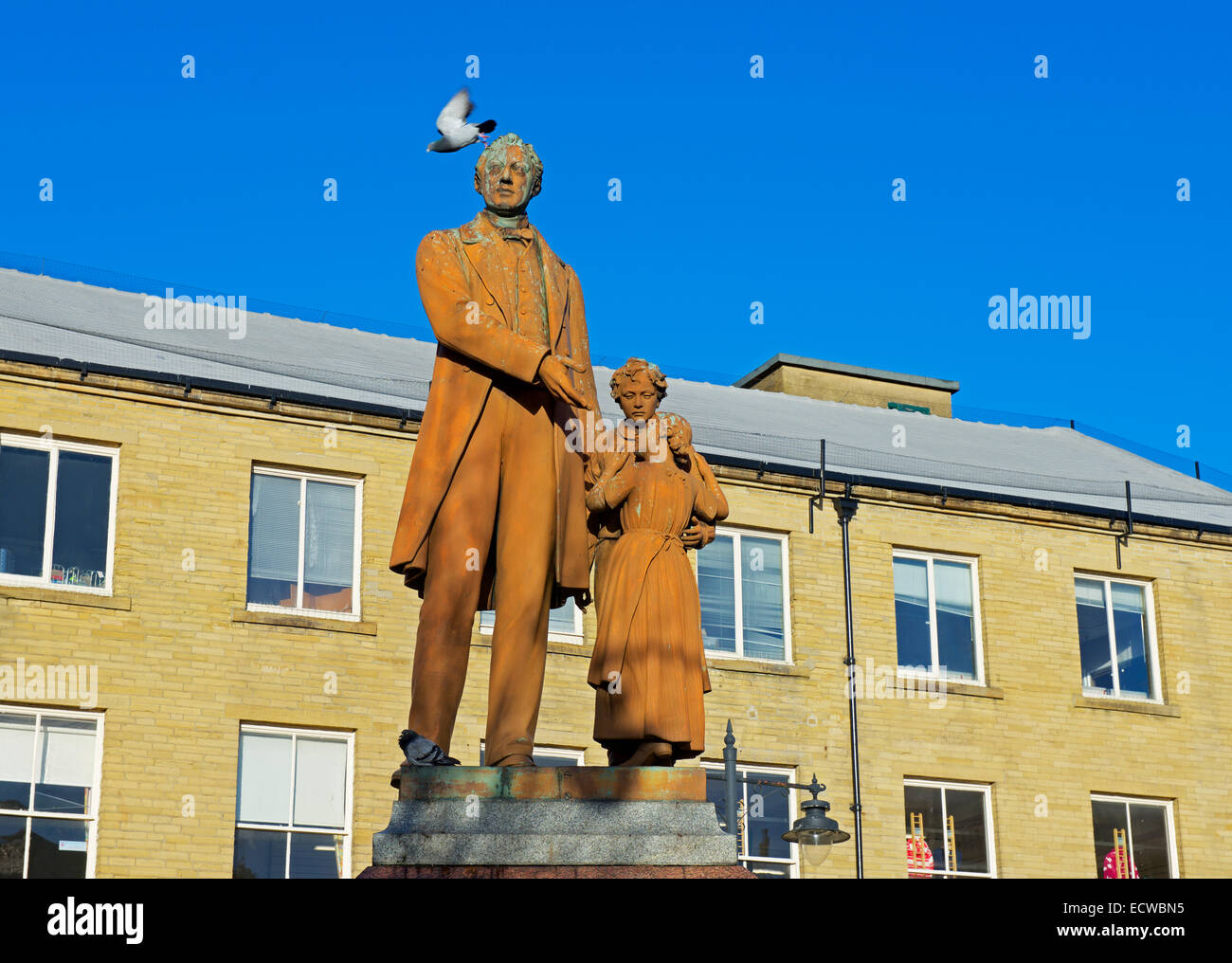 Statue of Richard Oastler, Bradford, West Yorkshire, England UK - Stock Image