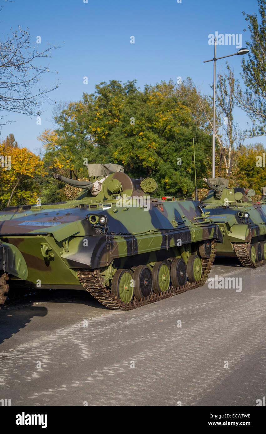 Infantry Fighting Vehicles - Stock Image