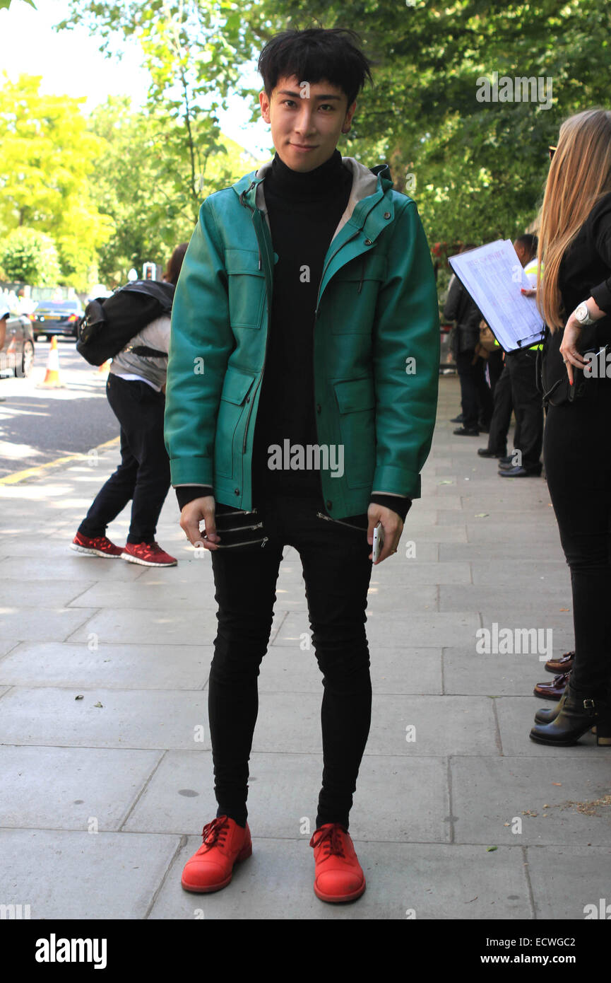 bd61378fe92 London Fashion Week Men s Ready-To-Wear Summer 2015 - Burberry Prorsum - Celebrity  Sightings Featuring  Atmosphere Where  London