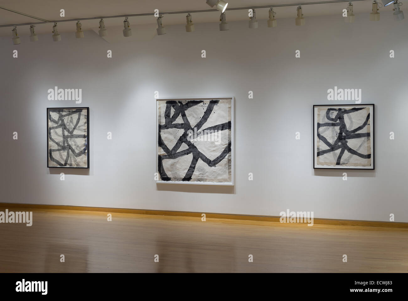 Exhibition by artist Marc Katano at the Stephen Wirtz Gallery, San Francisco, CA. - Stock Image