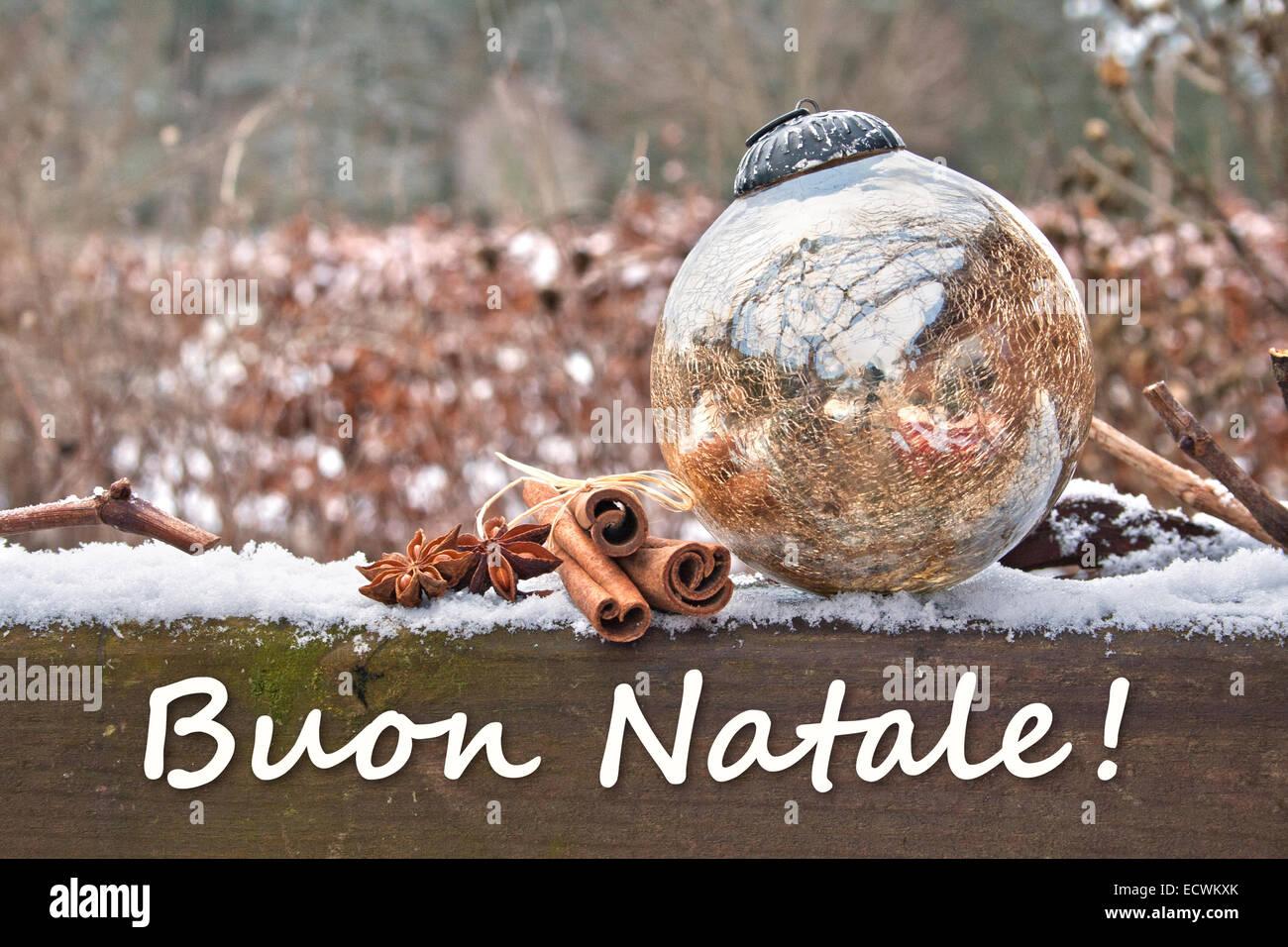 Italian Christmas Card Christmas Tree Stock Photos Italian