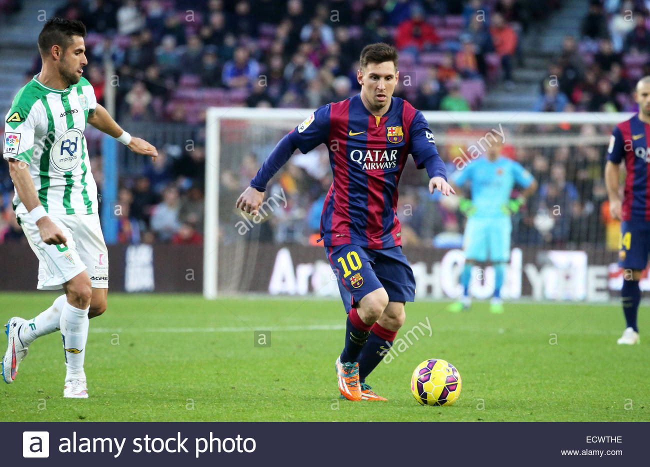 Barcelona, Spain. 20th Dec, 2014. Leo Messi in the match between FC Barcelona and Cordoba CF, for the week 16 of Stock Photo