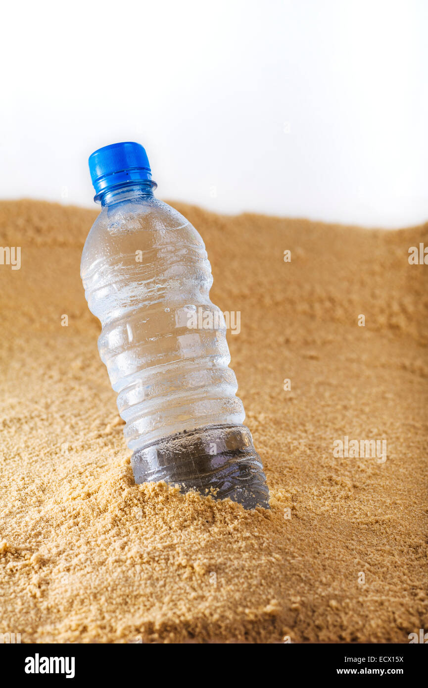 Bottle of water. - Stock Image