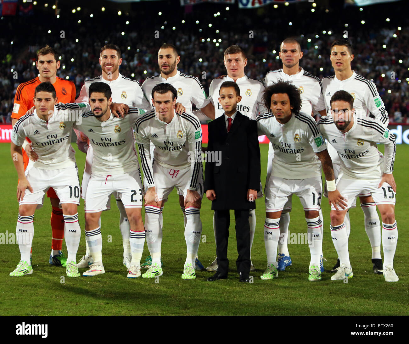 Marrakesh Morocco 20th Dec 2014 Fifa World Club Cup Final Real