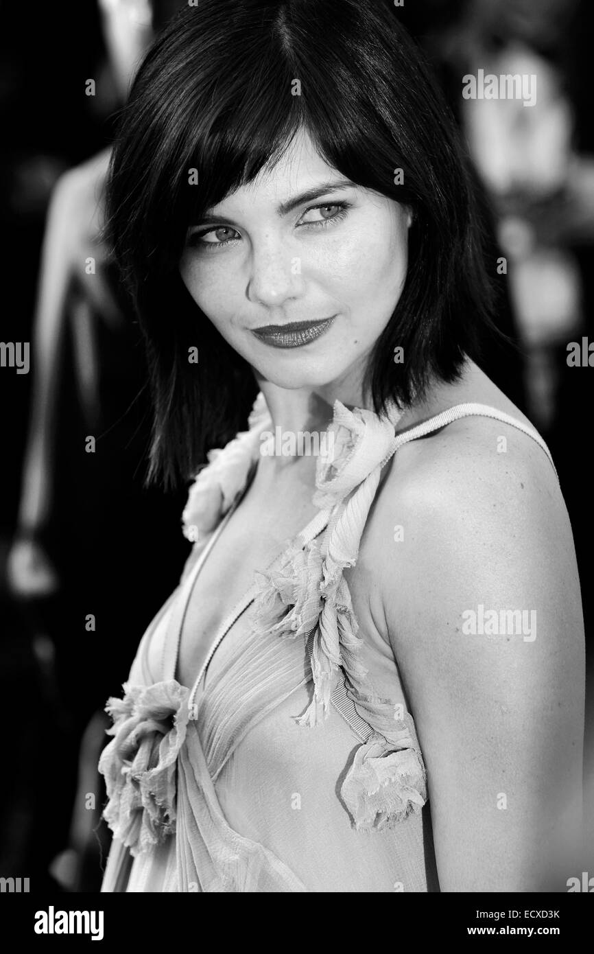 CANNES, FRANCE - MAY 17: Actress Delphine Chaneac attends the premiere of 'Biutiful' during the 63rd Cannes - Stock Image