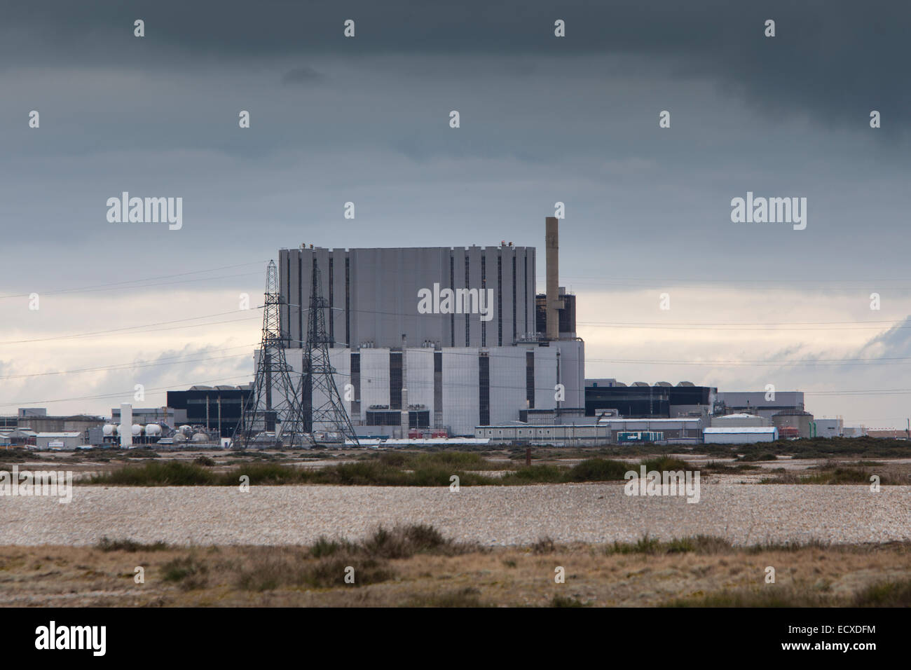 Nuclear Power Station, Dungeness, Kent - Stock Image