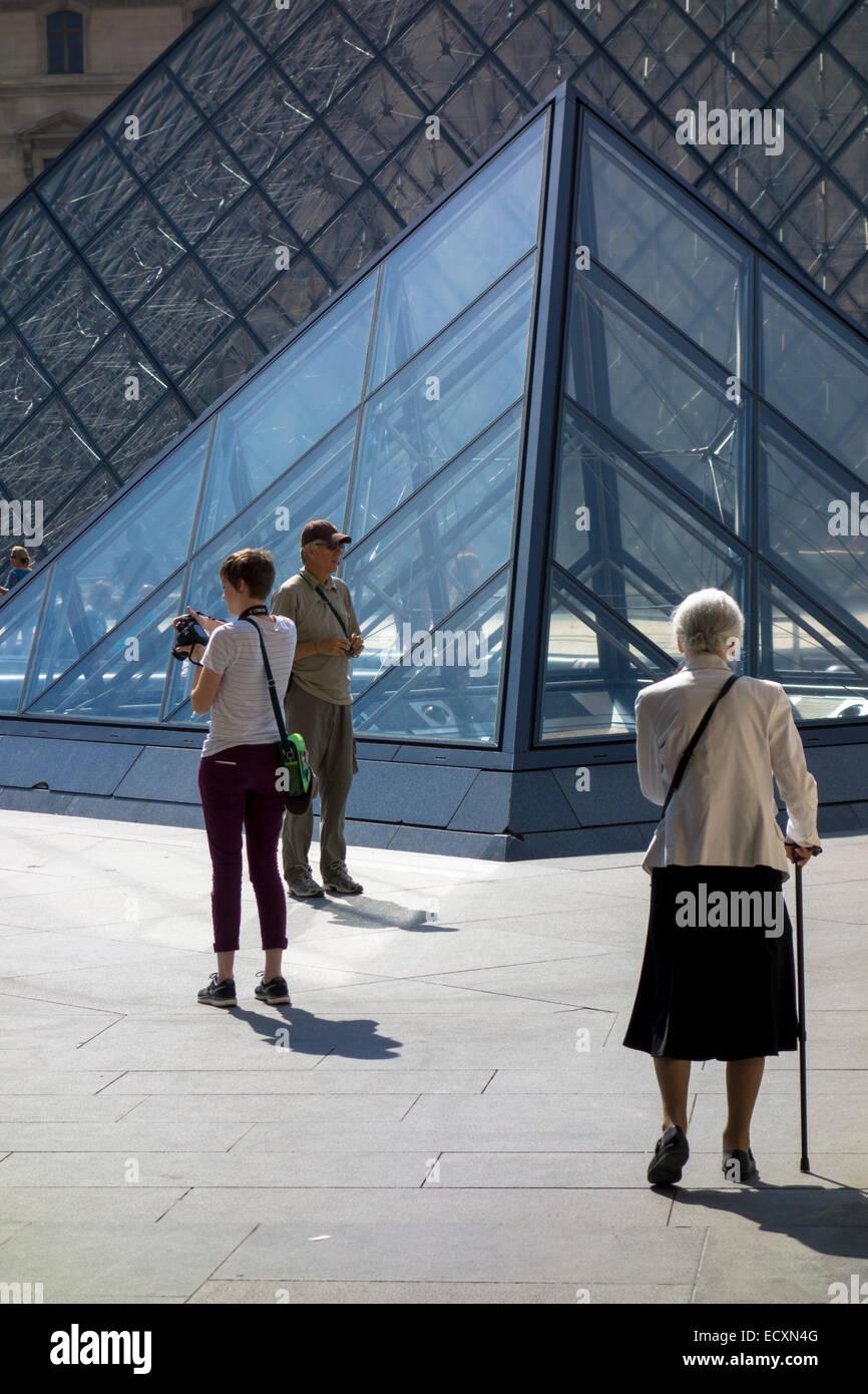 Louvre, PAris Stock Photo
