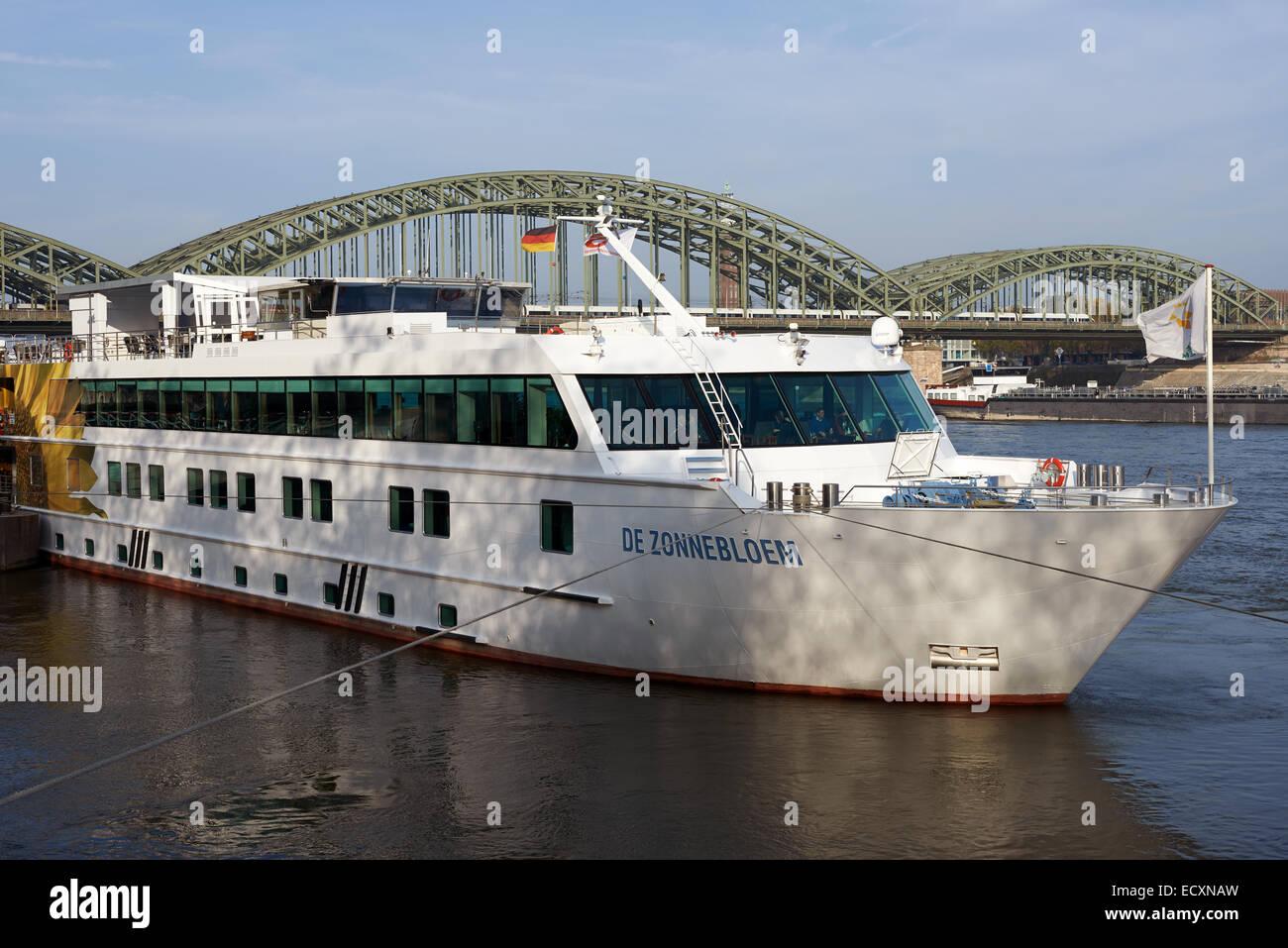 Viking Cruisers De Zonnebloem Cologne Germany - Stock Image