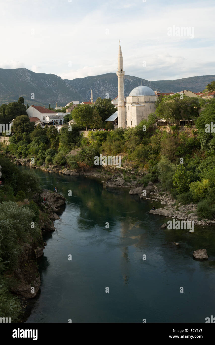 Mostar Bosnia Stock Photo