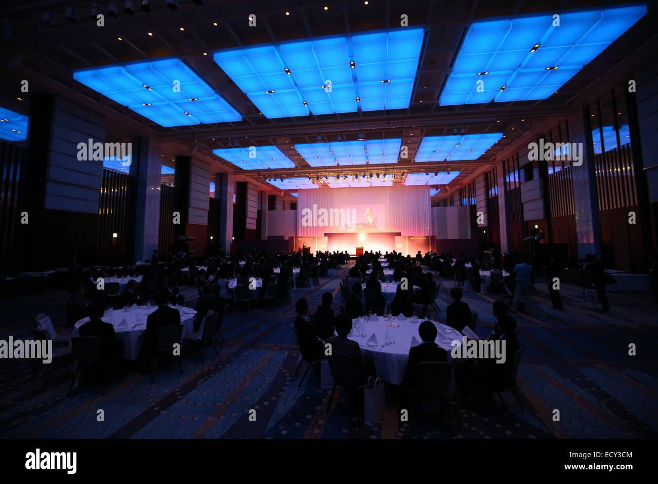 General View, DECEMBER 22, 2014 - Athletic :  JAAF Athletic Award 2014 is held at the prince park tower tokyo, Tokyo, - Stock Image