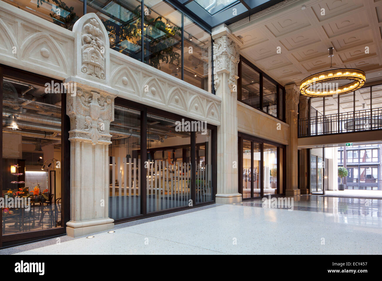 Kaisergalerie Mall High End Shops Atrium With Terrazzo