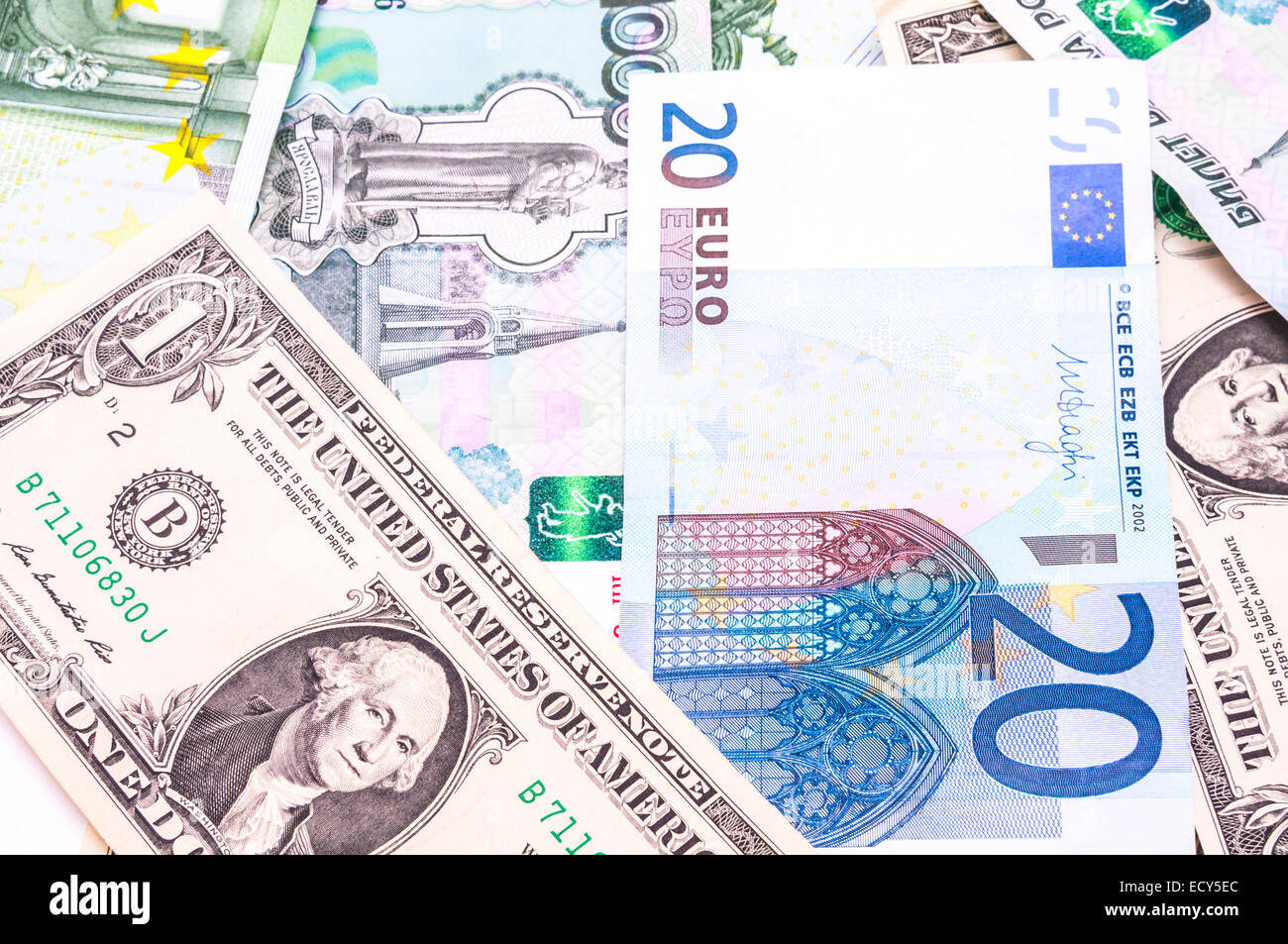 Paper Money Collection Stock Photos & Paper Money Collection