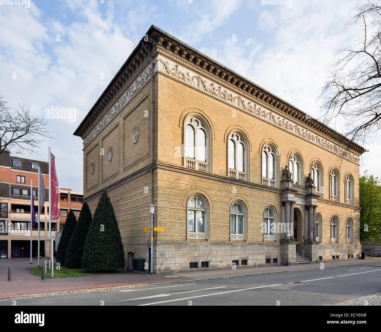 Augusteum Oldenburg, State Museum for Art and Cultural History with the Old Master Picture Gallery, Oldenburg, Lower - Stock Image