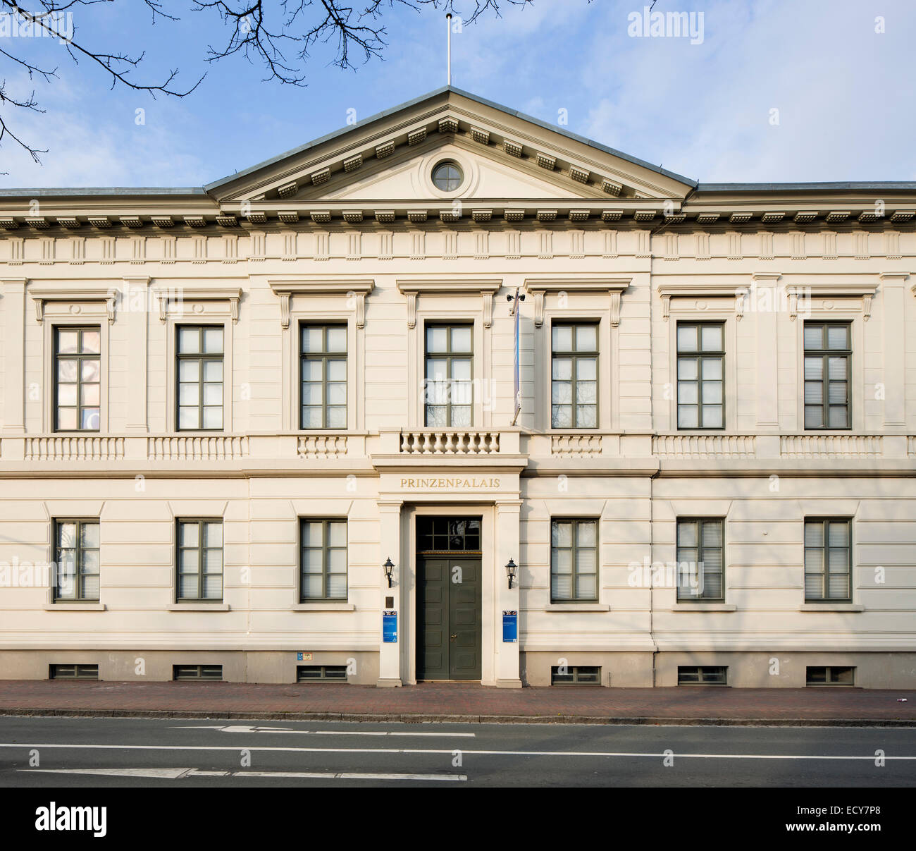 Former Oldenburg Prinzenpalais, now the State Museum for Art and Cultural History with the New Master Gallery, Oldenburg - Stock Image