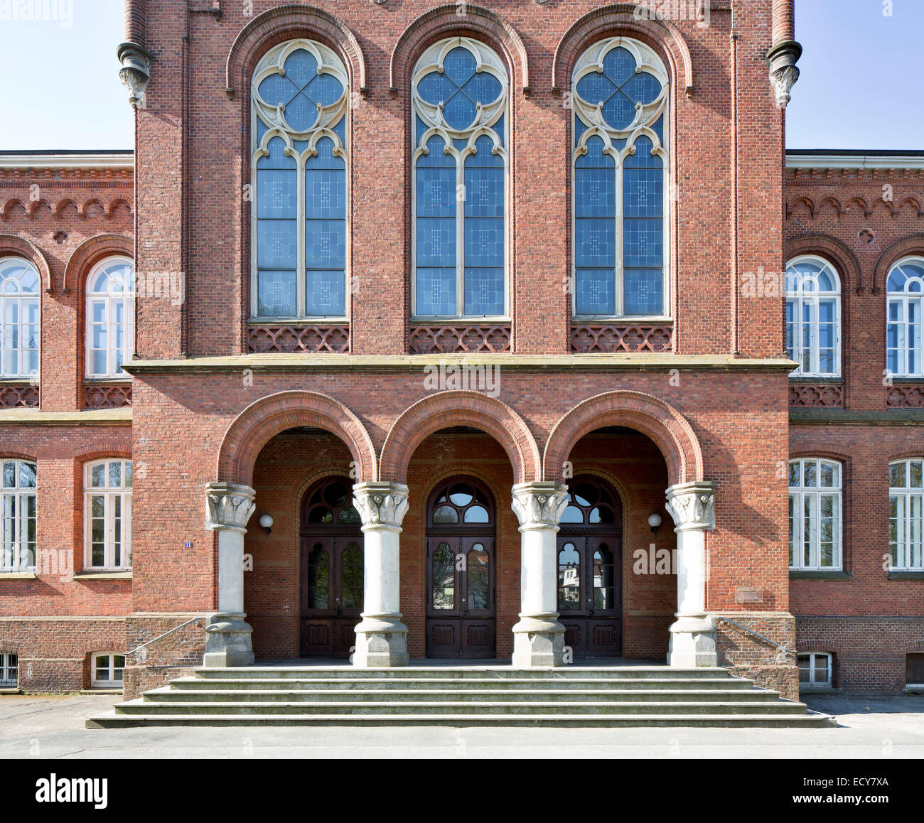 Altes Gymnasium, grammar school, Oldenburg, Lower Saxony, Germany - Stock Image