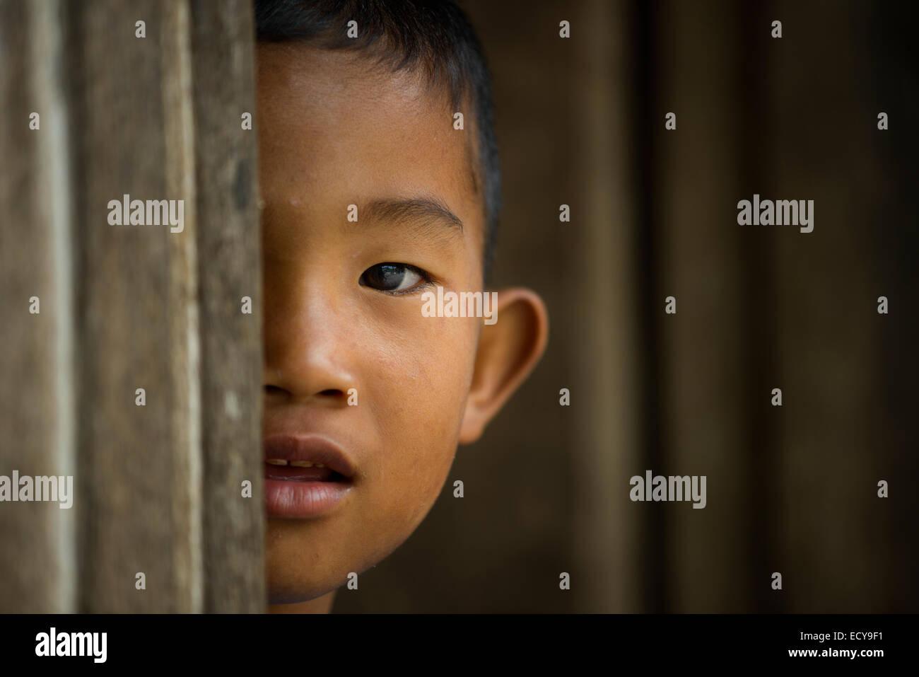 Igorot boy of the Cordillera, Northern Luzon, Phllippines - Stock Image