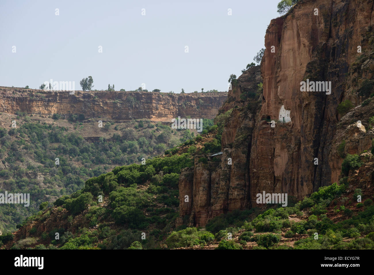 Abba Yohanni rock-hewn church, Tigray, Ethiopia - Stock Image